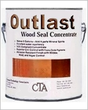 Button for product page showing Outlast Wood Seal Concentrate deck stain single gallon