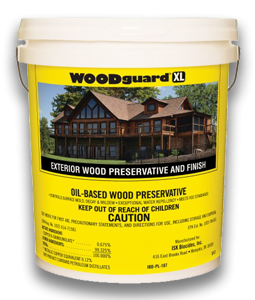 Button for product page showing Woodguard XL Wood Preservative