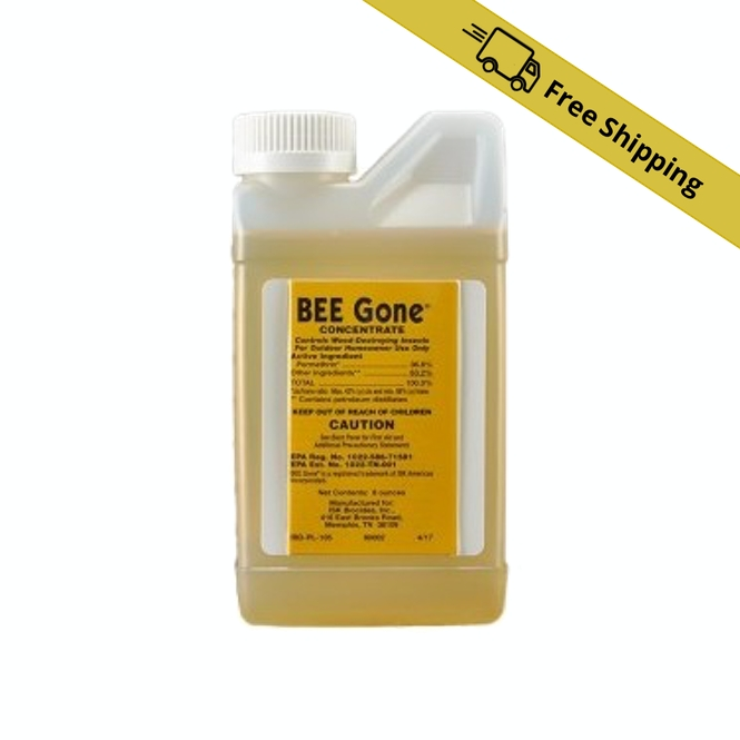Bee Be Gone Insecticide Concentrate 8 oz bottle