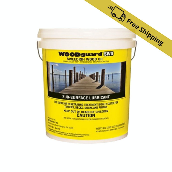 WOODguard Swedish Wood Oil 5-gallon bucket