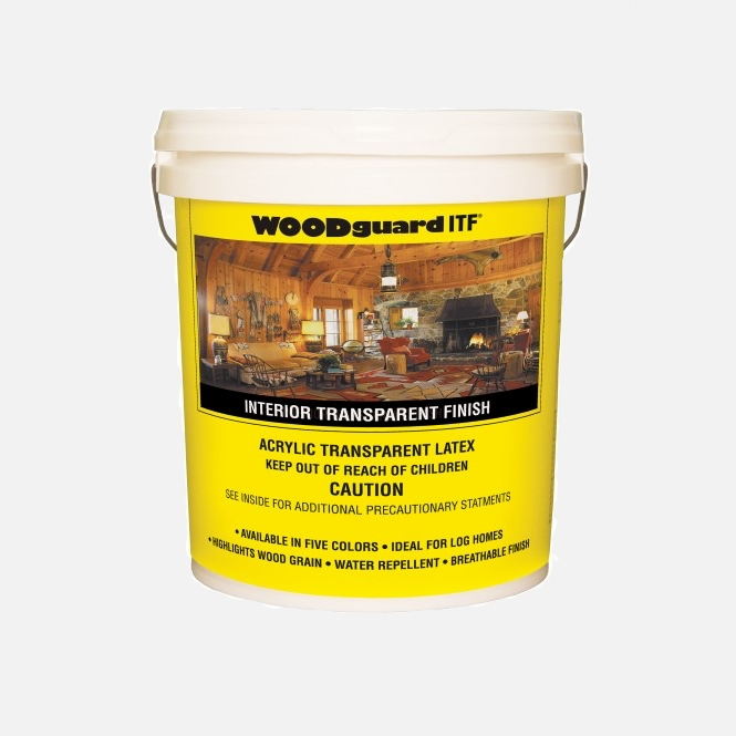 Button for product page showing WOODguard Interior Finish (ITF) 5-Gallon Bucket